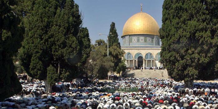 Epaules contre épaules, des fidèles prosternés dans la prière rituelle. En Iran comme ailleurs, respect d'un des 5 piliers.